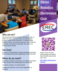 Canceled - Elkins Robotics/Electronics Club @ Elkins Public Library | Elkins | Arkansas | United States