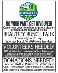 Beautify Bunch Park Community Workday - March 14 @ Bunch Park