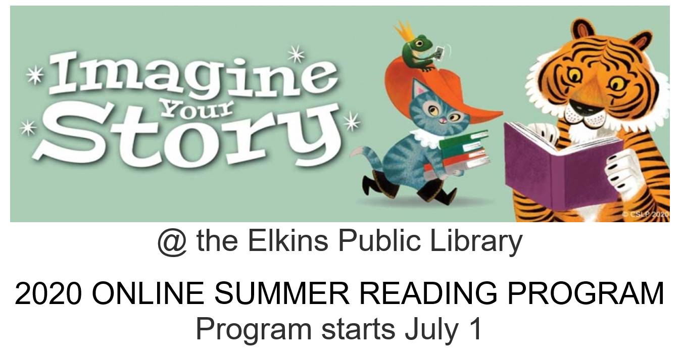 Summer Reading Program Starts July 1 – ONLINE!