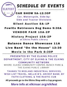 Elkfest @ Elkins Community Center | Elkins | Arkansas | United States