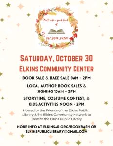 EPL Book Bash @ Elkins Community Center